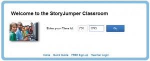 Storyjumper.com - Klasse - login